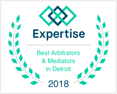 Expertise Best Arbitrators & Mediators in Detroit 2018
